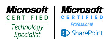 Microsoft Technology Specialist SharePoint Certified Professional